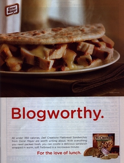Oscar Mayer's 'Blogworthy' Ad