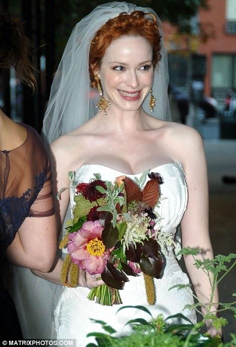 Christina Hendricks Is Married