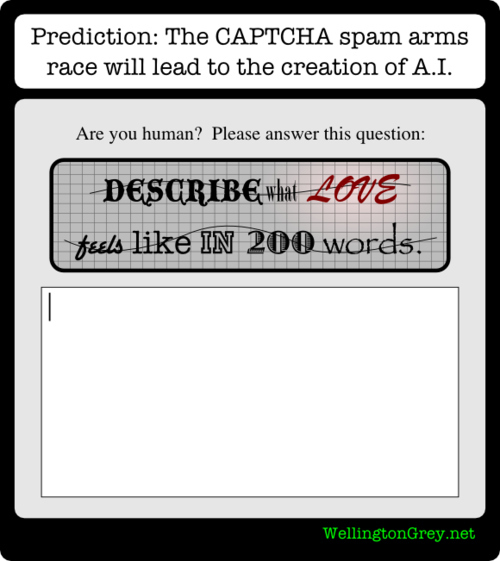 The Future of CAPTCHA