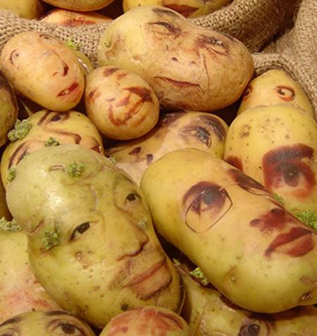 Potato Faces
