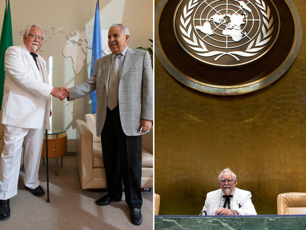 Colonel Sanders Takes The UN