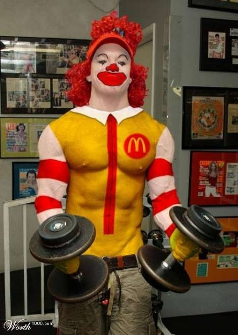 Carrot Top As Ronald McDonald