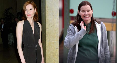 The Official Abbreviated Geena Davis Aging Timeline