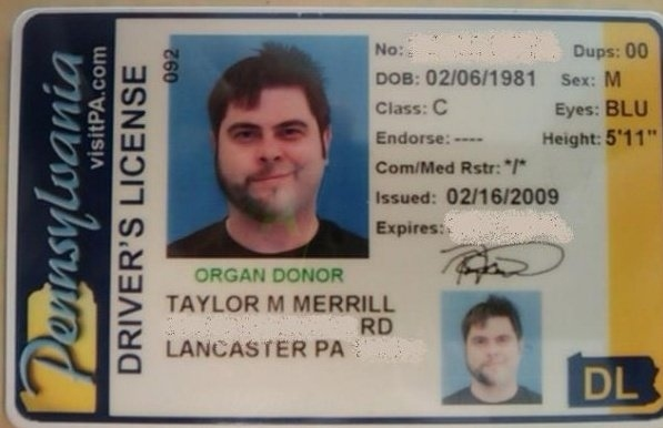 The Best Driver's License Photo?