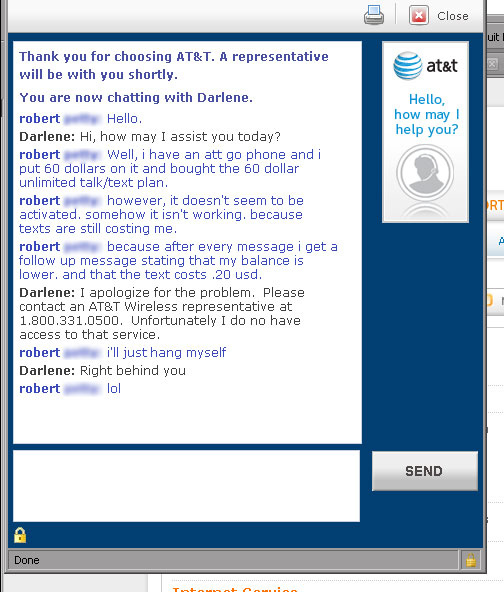 AT&T Customer Support