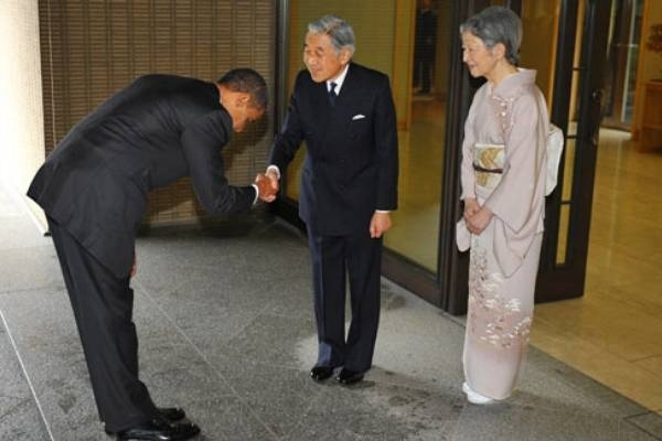 Obama Bows Away America's Dignity