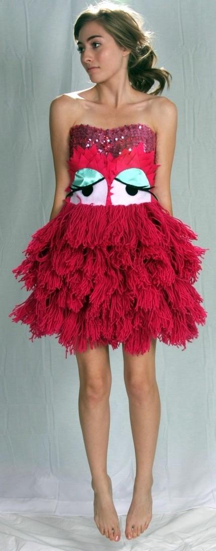 Monster Prom Dress