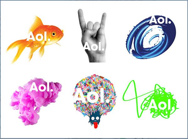 AOL's New Branding
