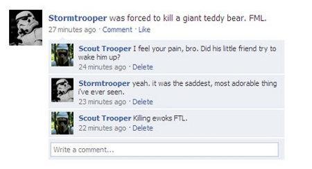 Stormtrooper Status