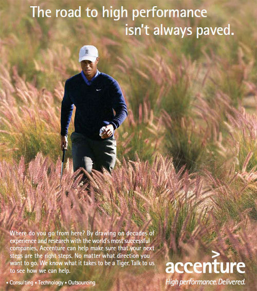 Timely Tiger Woods Ad