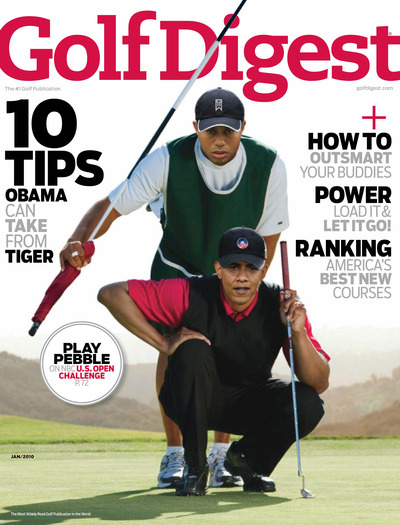 Timely Tiger Woods Cover