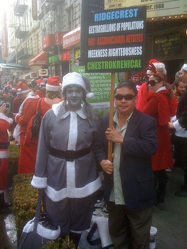 Desaturated Santa