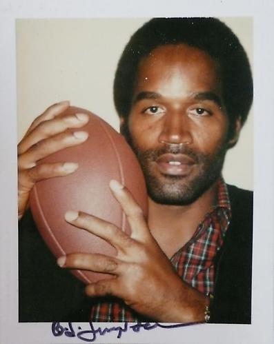 Warhol's Sports Star Polaroids