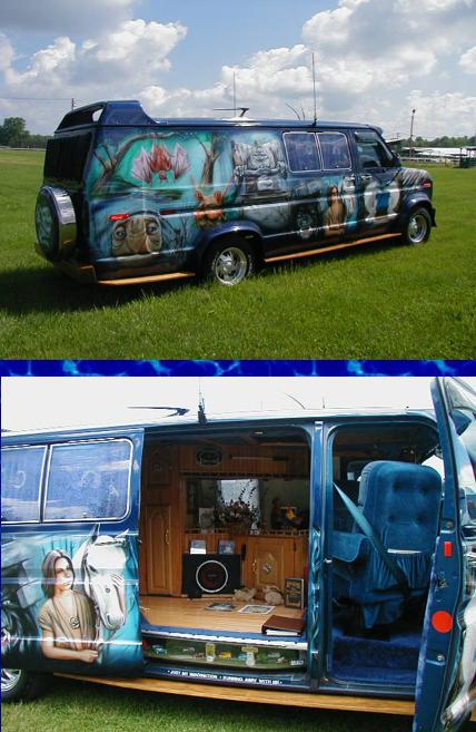Neverending Story Van