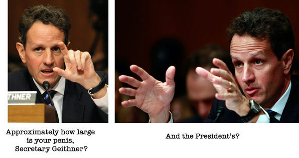 Presidential Penis Size