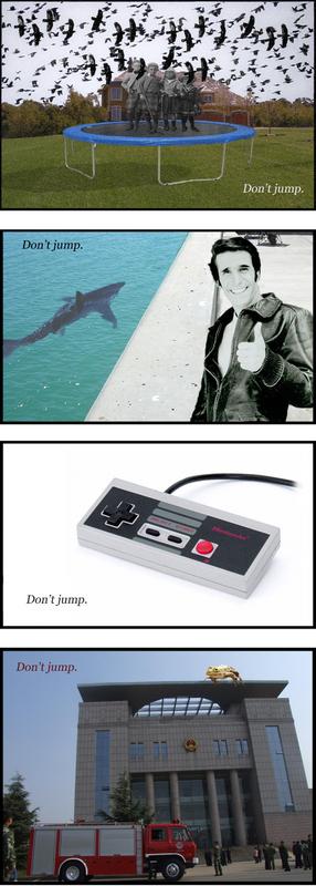 Don't jump.