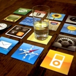 iPhone Icon Coasters