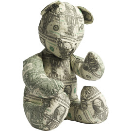Dollar Teddy Bear