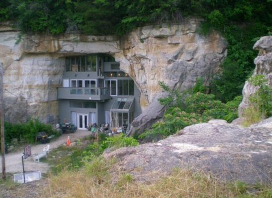 Awesome Cave House
