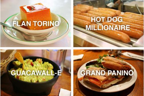 Oscar Food Puns