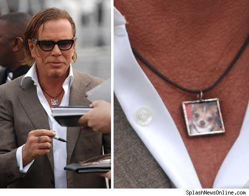Mickey Rourke Really Misses His Dog