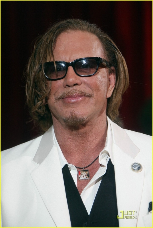 Mickey Rourke's Dog Necklace
