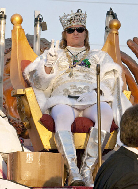 Happy Mardi Gras from Val Kilmer!