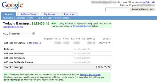 Google Adsense Generator