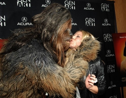 Chewbacca Kisses