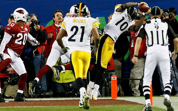 It was a touchdown.