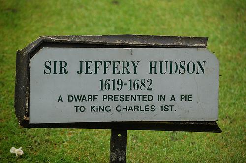 Sir Jeffery Hudson