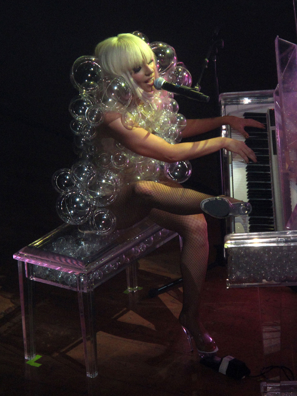 Lady Gaga's Bubble Leotard