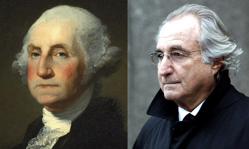 Bernie Madoff Looks Like George Washington