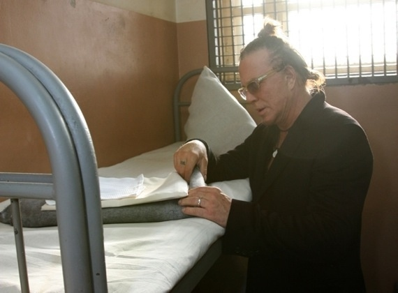 Mickey Rourke in Russian Prison!