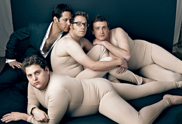 Funny Guys in Nude Fat Suits