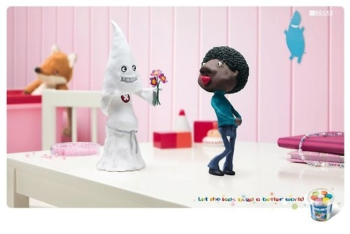 Controversial Modelling Clay Ad
