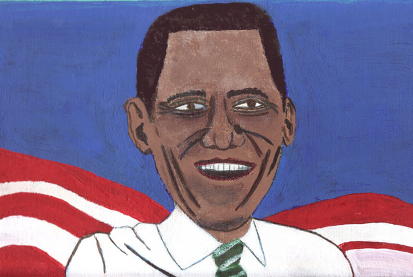 Bad Paintings of Barack Obama
