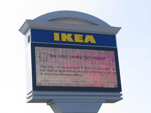 Ikea Error