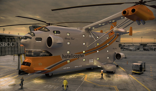The Hotelicopter