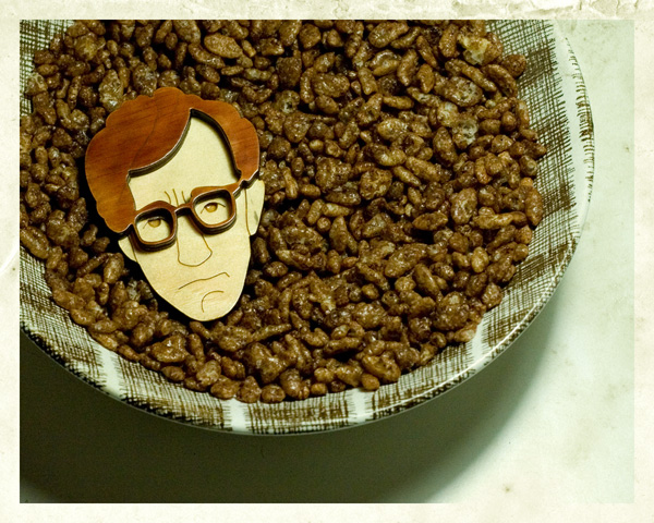 Woody Allen Brooch
