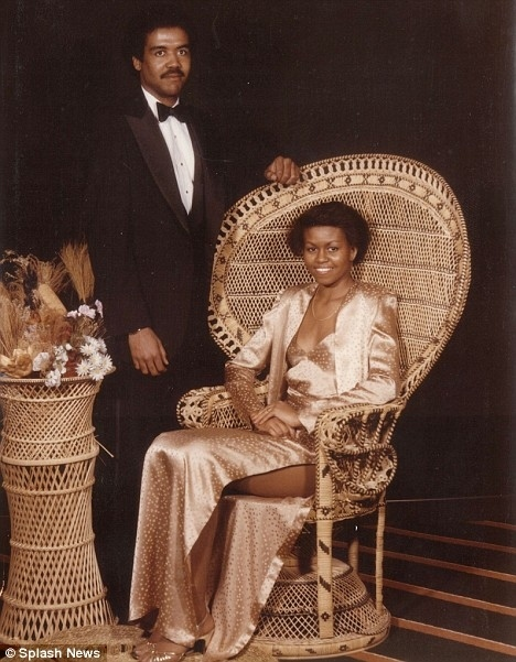 Michelle Obama's Prom Dress