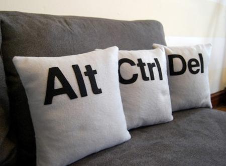 Ctr Alt Del Pillows
