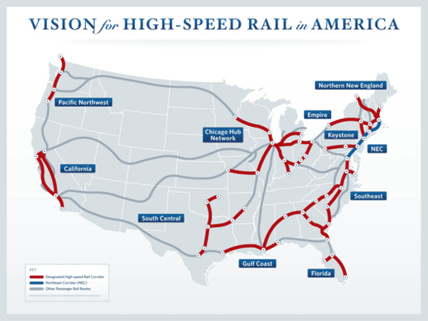 Obama's High Speed Trains