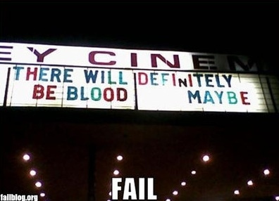 There Will Definitely Be Blood