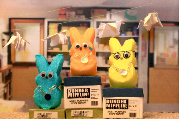 'The Office' in Peeps