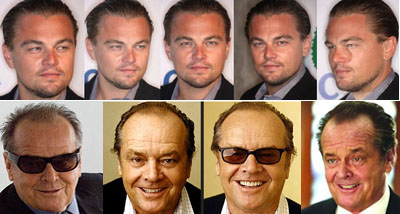 Leo DiCaprio-Jack Nicholson Morph