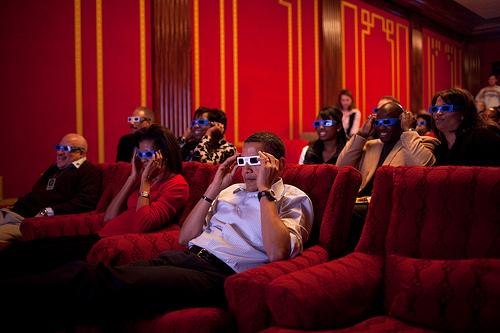 Obama's 3D Glasses