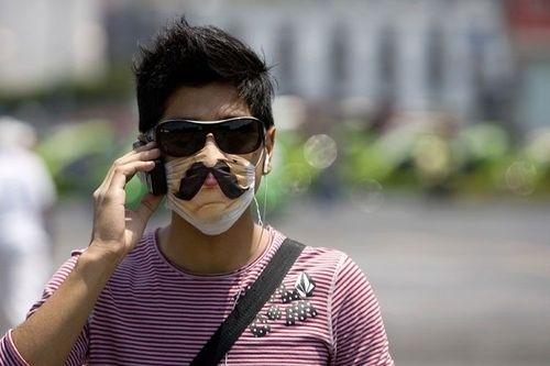 Swine Flu Mustache