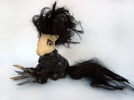 My Little Edward Scissorhands Pony