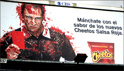 """Blood"" Cheetos"